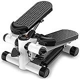 Best Goods 2-in-1 mini-stepper, up-down-stepper voor thuis, klein fitnessapparaat voor been- en biltraining, hometrainer, fit