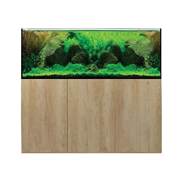 Aqua One Aquarium Fish Tanks Freshwater AquaSys 150cm 395L (Grey Nebraska Oak)