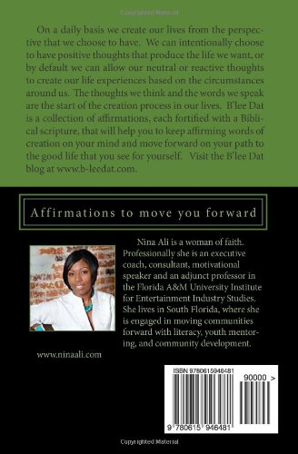 B'lee Dat!: Affirmations to move you forward