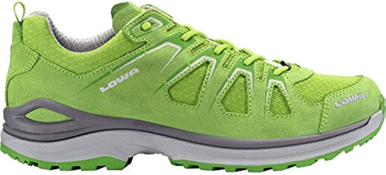 Lowa Hombre 310611 – 7240 halbhoher Botas de senderismo innox Evo GTX lo Color Verde/Verde, hombre, amarillo/verde