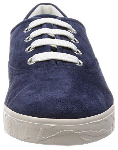 Geox D PRUDENCE D Damen Sneakers Blau (Navyc4002) ...