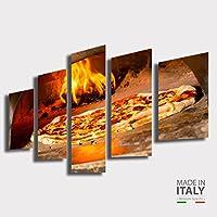 Amazon.it: Pizza - Stampe e quadri su tela / Stampe e quadri: Casa e ...