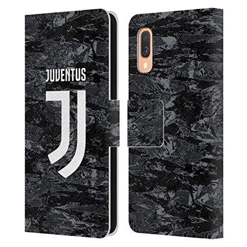 Head Case Designs Offizielle Juventus Football Club Home Goalkeeper 2019/20 Race Kit Leder Brieftaschen Huelle kompatibel mit Samsung Galaxy A40 (2019)