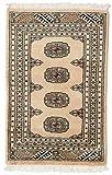 CarpetVista Pakistan Buchara 2ply Teppich 61x93 Orientteppich