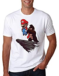 LuckyTshirt Lion King T Shirt and Kids Mario Spoof Marvel Comics Adult Sizes Top Movie Tee Pumba Funny Gift Simba