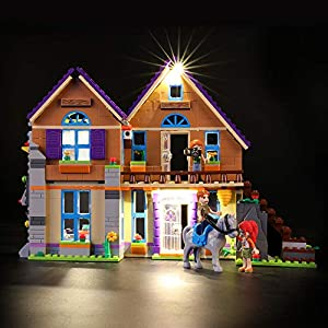 LIGHTAILING Set di Luci per (Friends La Villetta di Mia) Modello da Costruire - Kit Luce LED Compatibile con Lego 41369… 0716852281480 LEGO