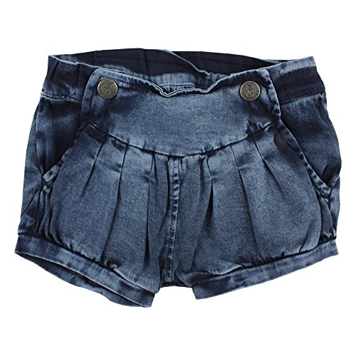 Small Rags Baby-Mädchen Ella Shorts, Blau (Navy Iris 03-49), 80