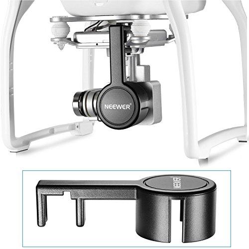Neewer® für DJI Phantom 3 Standard, Professionelle und Erweiterte Schutz- Kamera Objektiv Kappen-Schutz-Abdeckung aus hochwertigen ABS-Kunststoff - Schwarz - 3