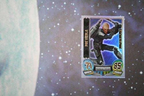 Force Attax Serie 5: limitierte Auflage LEPV Pre Vizsla Star Wars Sammelkarten