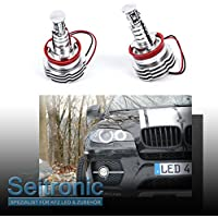 Faro de estacionamiento Angel Eyes H8 de Seitronic. Lámpara de 10 W, con anillos de corona de 3ª generación