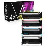 4 Toner kompatibel zu Samsung CLP310, CLP-310 Series, CLP-315N, CLX-3170FN, CLX-3175FN - CLT-K4092S/ELS - Schwarz 2.500 Seiten, Color je 2.000 Seiten