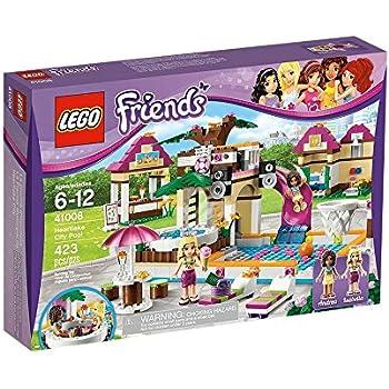 Lego friends 41008 la piscina di heartlake city amazon - Lego friends piscina ...