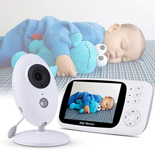 BABY MONITOR ZLMI Surveillance de l'interphone de Vision Nocturne de Moniteur de bébé de Maison de Moniteur numérique de 3,5 Pouces