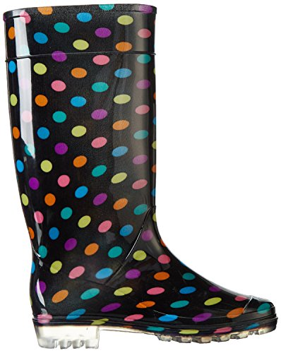 Mesdames Wellies Femmes neige pluie Festival de Wellington Bottes Taille EUR 37, 38, 39.5, 41 Multispot
