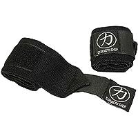 Strength Shop Hercules Wrist Wraps - Black