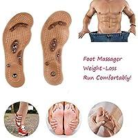 LXQGR Magnetfeldtherapie Magnet Massage Einlegesohlen Männer/Frauen Schuh Komfort Pads Atmungsaktive Schuheinlagen... preisvergleich bei billige-tabletten.eu