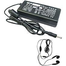 Amsahr 19 V 3.16 A 60W reemplazo adaptador de CA con el auricular estéreo para Nec PCG XE2 CC, DD XE2, XE2 DE, DI XE2 ordenador portátil