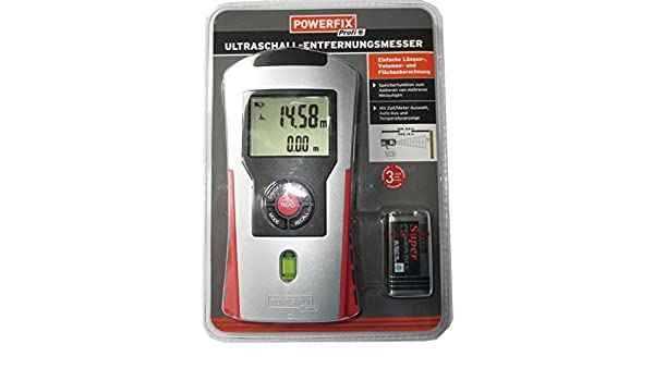 Ultraschall Entfernungsmesser Industrie : Powerfix® ultraschall entfernungsmesser: amazon.de: baumarkt
