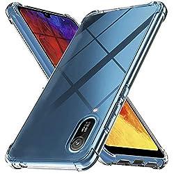 Ferilinso Hülle für Huawei Y6 Pro 2019 / Huawei Y6 2019, Ultra [Slim Thin] Kratzfestes TPU Gummi Weiche Haut Silikon Fall Schutzhülle (Transparent)