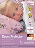 Hippychick Duvet Protector, 135 x 200 cm - Single, White
