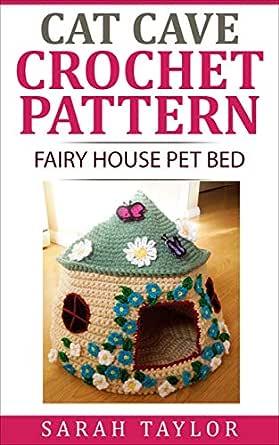 Crochet Cute Cat Nest Bed Free Pattern - Crochet Cat House ... | 445x279