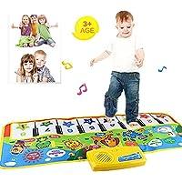 2017 nueva Touch juego Keyboard Musical Música Cantando Gimnasio Alfombra Mat, mmtop mejor niños bebé