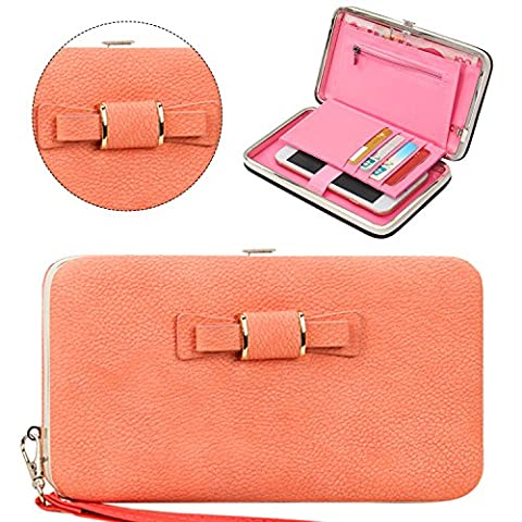 Sunroyal Luxury Women PU Leather Wallet Phone Bags Case Stylish