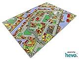 Amsterdam HEVO® Teppich | Spielteppich | Kinderteppich 200x200 cm Oeko-Tex 100