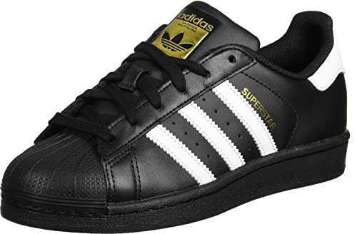 Adidas Superstar, Sneakers Basses homme, Noir (Core Black/Ftwr White/Core Black), 43 1/3 EU