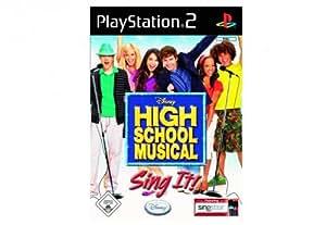 High School Musical - Sing it! - [PlayStation 2]