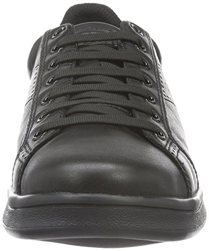 Geox U Warrens B, Baskets Basses Homme Schwarz (BLACK/ROYALC0245)