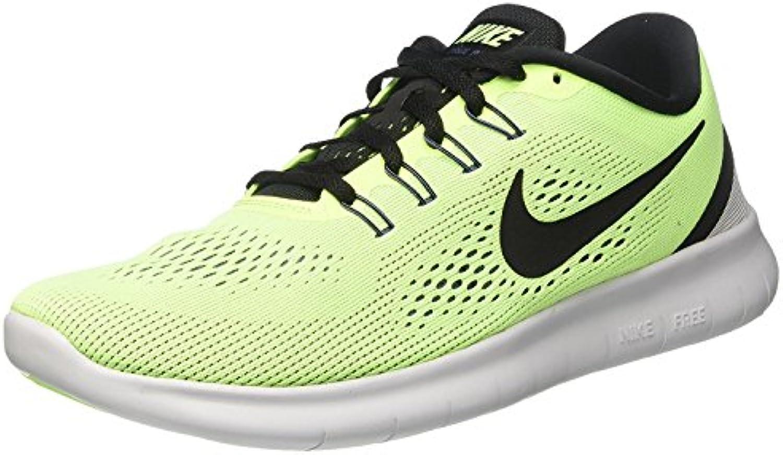 Nike Free RN Laufschuhe ghost green-black-blue moon moon moon - 49,5 1d4fb3