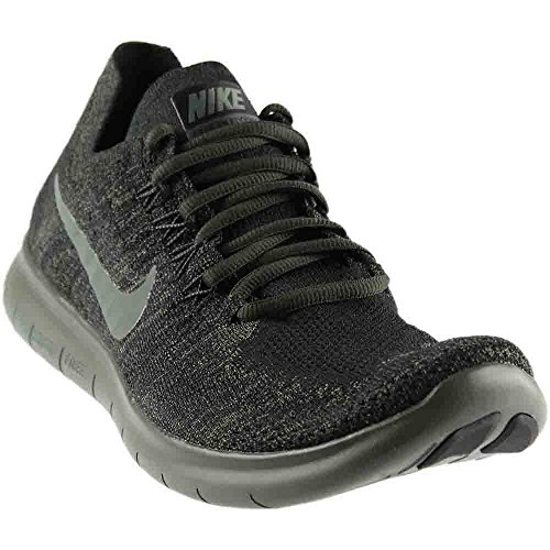 newest collection bab9a 26034 Nike Men s Free RN Flyknit 2017, Black River Rock-Anthracite, ...