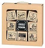 Stempelset 03 (Lehrer) 10-teilig Original stieber® stiebox superleicht