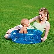 NHR Inflatable Kid's Swimming Pool, Water Pool, Kiddie Pool, Baby Pool (Blue)