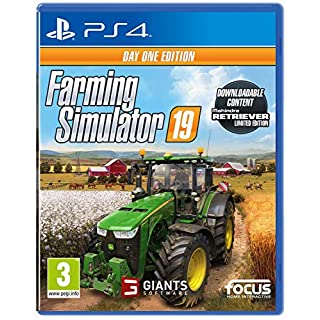 Farming Simulator 19 Day One Edition (PS4)