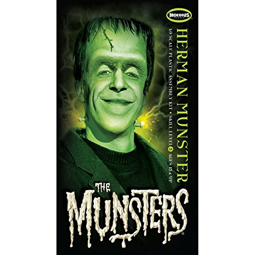 Kostüm Munster Herman - The Munsters Modellbausatz Herman Munster