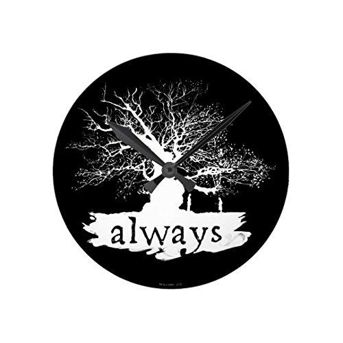 Monsety Always Life Wanduhr mit Baum-Zitat, Antikes Design, für Wohnzimmer, Krankenschwester, Holz, Kunst für Kinder, Küche, Schlafzimmer, Dekoration, 30 cm