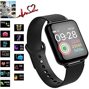 frgsdxjgtk B57 Pulsera Inteligente Actividad Fitness Tracker Ritmo cardíaco Presión Arterial Hombres Mujeres Reloj Inteligente