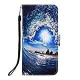 Veapero Samsung Galaxy A10/M10 Case,Shockproof PU Leather