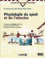 Physiologie du sport et de l'exercice de Jack Wilmore