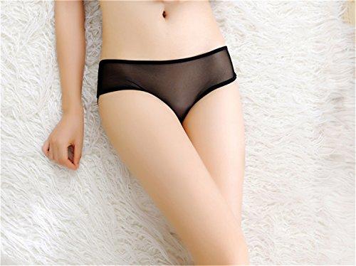 Czj-Innovation Slip Damen Unterhose Schlüpfer Unterwäsche - Freie Größe Blau