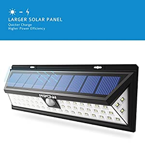 Mpow 54 LED Security Lights, Solar Powered Lights Outdoor Wall Lamp from Mpow