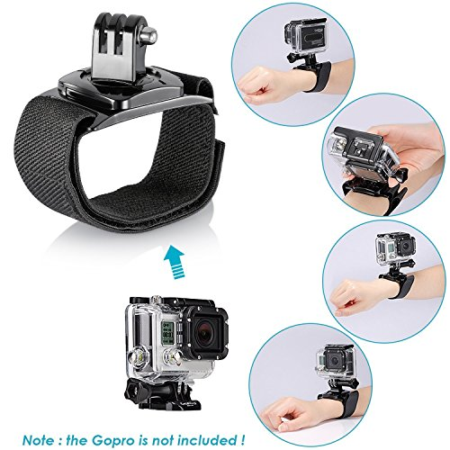 Neewer 21-in-1 Kit de Accesorios para GoPro Hero 7 Hero 2018, Hero 6, 5 Black, Hero 4, Hero 5 Session, Campark Akaso Crosstour Apeman Cámara Accióna