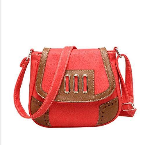 Umhängetasche Retro Red Damen Messenger Mode Bag gpwZqqxHz