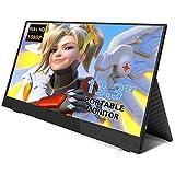 13,3 Zoll Portable Gaming Monitor HDR IPS UPERFECT 1920X1080 FHD Tragbarer Ultradünner Display Bildschirm Typ-C Stromversorgung für PS3 / PS4 / X-Box/Raspberry Pi/PC/Mac