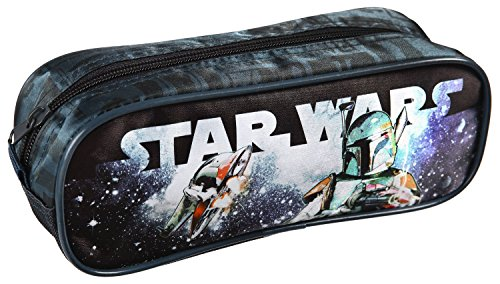Undercover SPKW0690 – Estuche con Cremallera (23 x 8 x 7 cm Aprox.), diseño de Star Wars