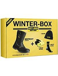 Saftey Jogger BESTBOOT, Chaussures de sécurité mixte adulte - Hiver Box, 41 EU