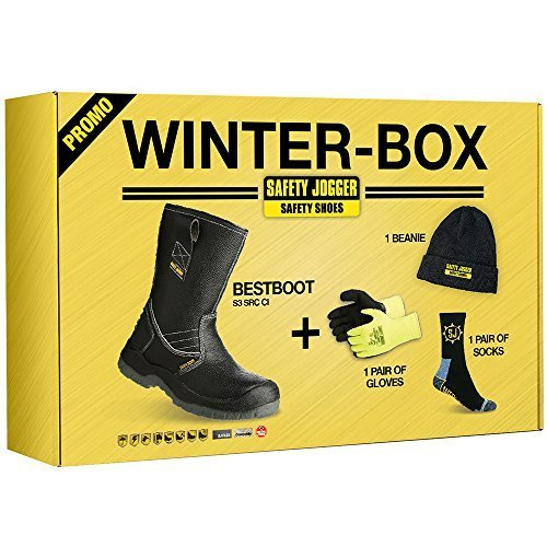 Safety Jogger BESTBOOT, Unisex - Adulti Da lavoro & Calzatura antinfortunistica S3 - Winter Box, 42 EU