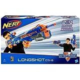 NERF N-Strike Elite Longshot CS-6 - Alcance de hasta 30 metros